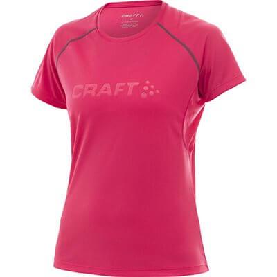 Trička Craft W Triko AR růžová