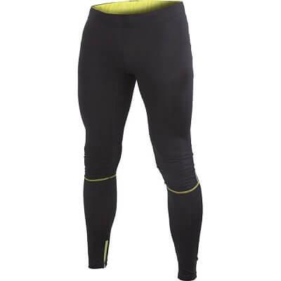 Kalhoty Craft Kalhoty Devotion Tights černá se žlutou