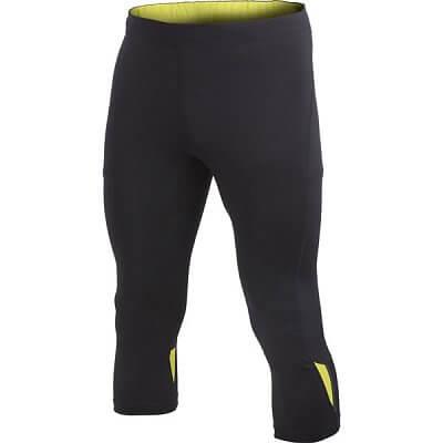 Kalhoty Craft Kalhoty Prime Knickers černá se žlutou