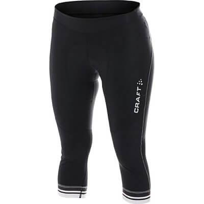 Kalhoty Craft W Cyklokalhoty PB Knickers černá s bílou