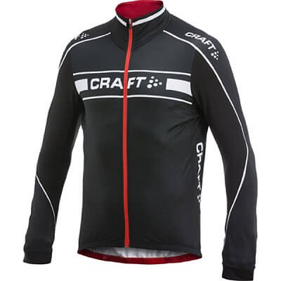 Trička Craft Cyklodres Grand Tour LS dlouhý rukáv černá s červenou