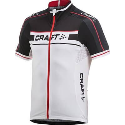 Trička Craft Cyklodres Grand Tour černá s bílou