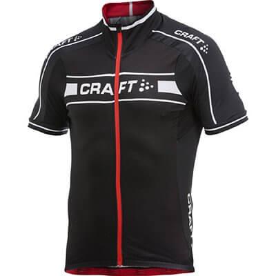 Trička Craft Cyklodres Grand Tour černá s červenou