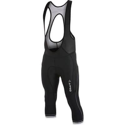 Kalhoty Craft Cyklokalhoty Puncheur Knickers černá s bílou