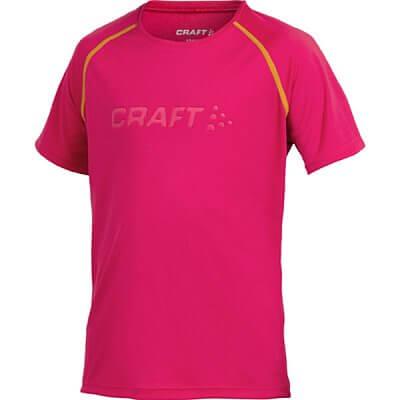 Trička Craft Triko Run růžová