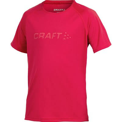 Trička Craft Triko Run červená