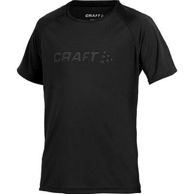 Trička Craft Triko Run černá