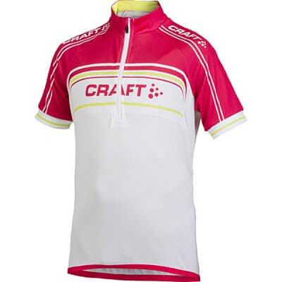 Trička Craft Cyklodres Logo bílorůžová