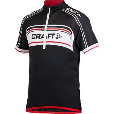 Trička Craft Cyklodres Logo černá