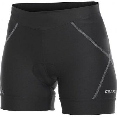 Kraťasy Craft W Cyklokalhoty AB Hot Pants černá