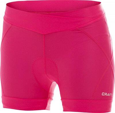 Kraťasy Craft W Cyklokalhoty AB Hot Pants růžová