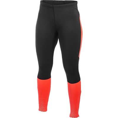 Kalhoty Craft W Kalhoty PR Brilliant Thermal Tights černá s oranžovou