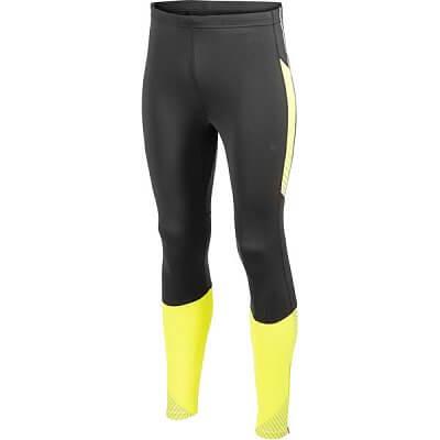 Kalhoty Craft Kalhoty PR Brilliant Thermal Tights černá se žlutou