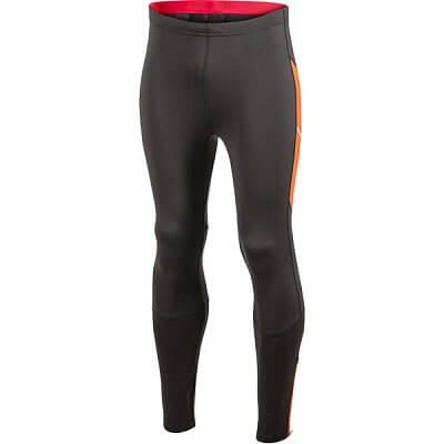 Kalhoty Craft Kalhoty PR Thermal Tights černá s oranžovou