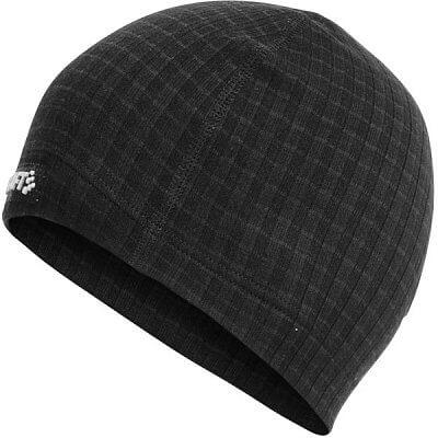 Čepice Craft Čepice Warm Wool černá