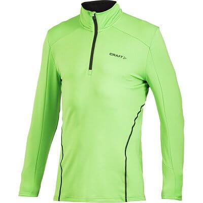 Mikiny Craft Rolák Facile Stretch Pullover zelená