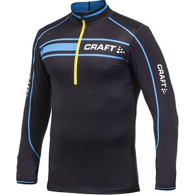 Bundy Craft Top PXC Jersey černá s modrožlutou