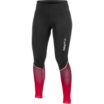Kalhoty Craft W Cyklokalhoty AB Thermal černá s fialovou