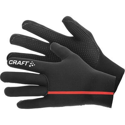 Rukavice Craft Rukavice Neoprene černá s červenou