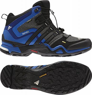 Pánská outdoorová obuv adidas terrex fast x mid gtx