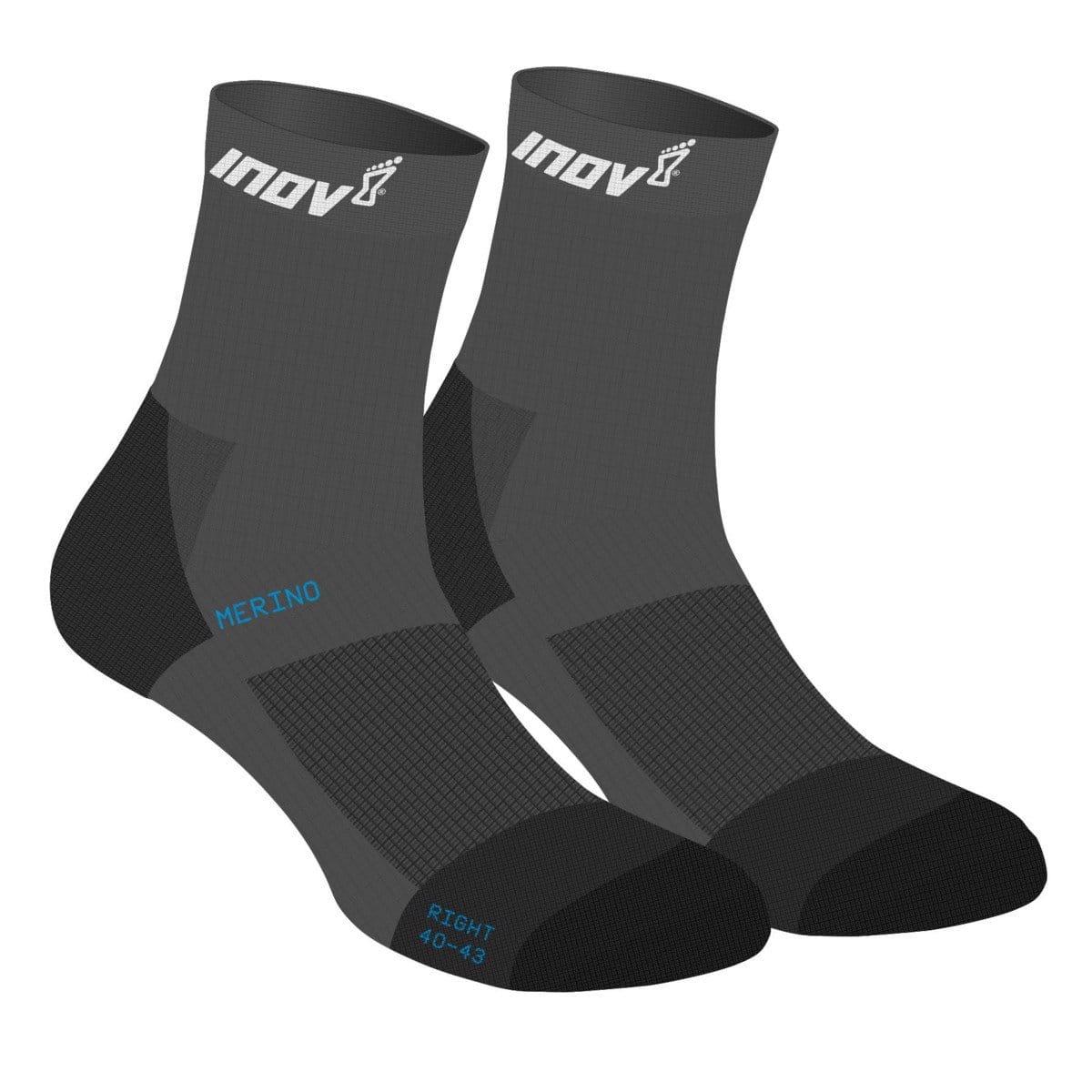 Ponožky Inov-8  MERINO LITE SOCK black černá