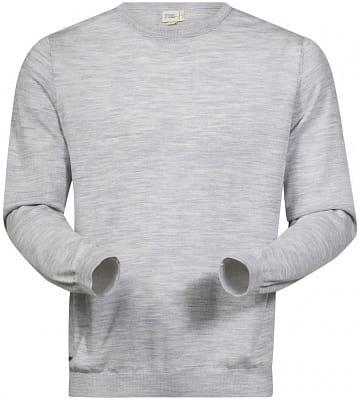 Pánský stylový vlněný svetr Bergans Fivel Wool Long Sleeve
