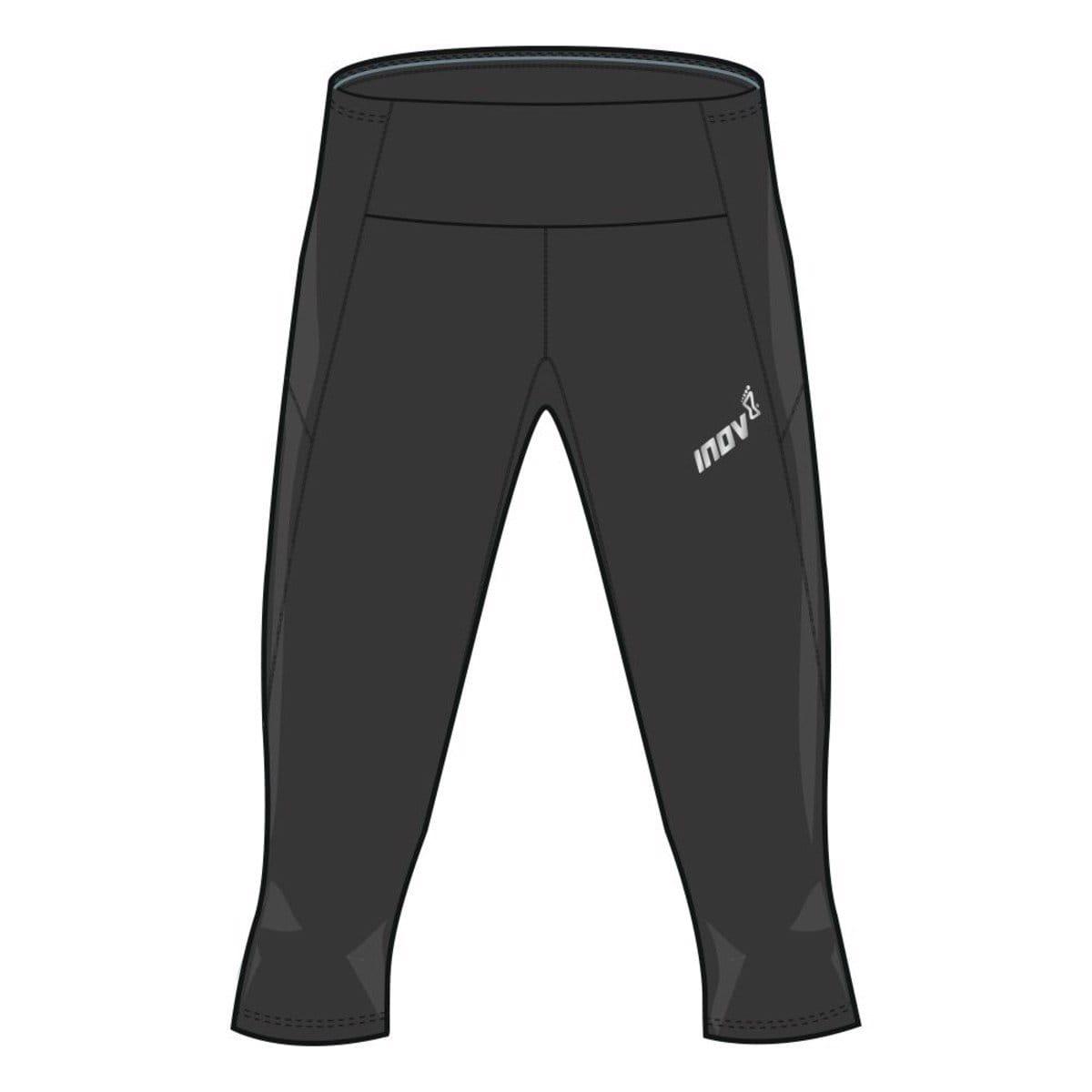Kalhoty Inov-8  RACE ELITE 3/4 TIGHT W black černá