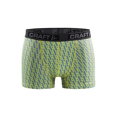 """Spodní prádlo Craft Boxerky Greatness 3"""" zelená s šedou"""