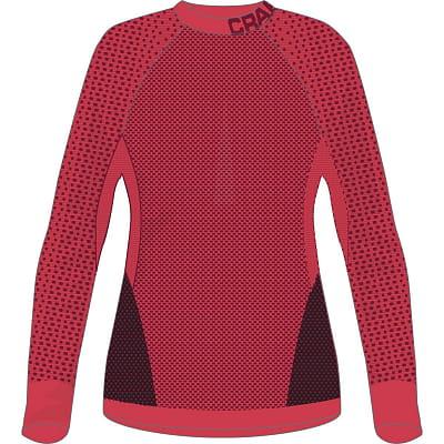 Dámské funkční triko Craft W Triko Warm Intensity červená
