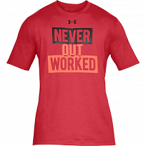 Under Armour Never Out Worked SS