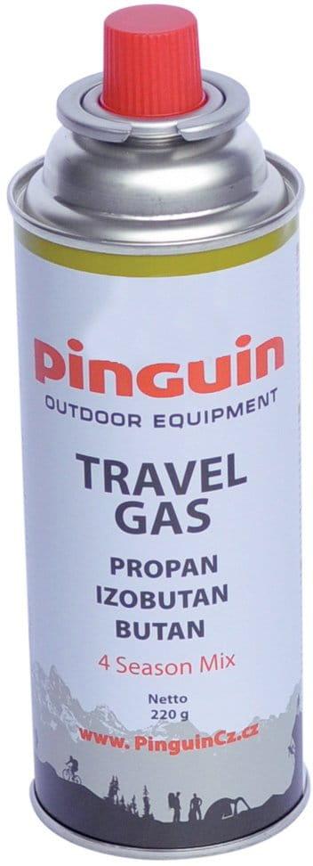 Plynová kartuša s bajonetovým konektorom Pinguin Cartridge 220 g