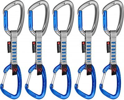 Expreska komplet Mammut 5er Pack Crag Indicator Wire Express Sets, 10 cm