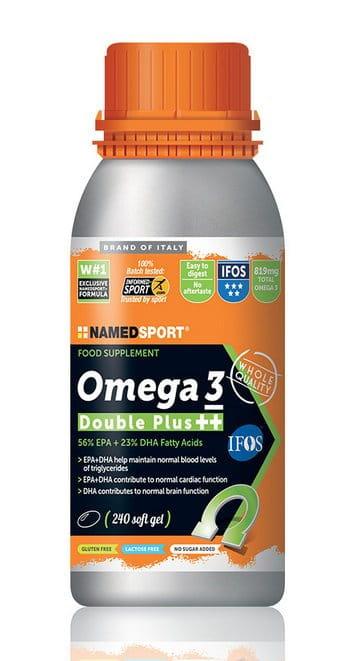 Vitamíny a minerály NAMEDSPORT OMEGA 3, 56% EPA + 23% DHA, OMEGA 3 MASTNÉ KYSELINY, 240 GELOVÝCH KAPSLÍ