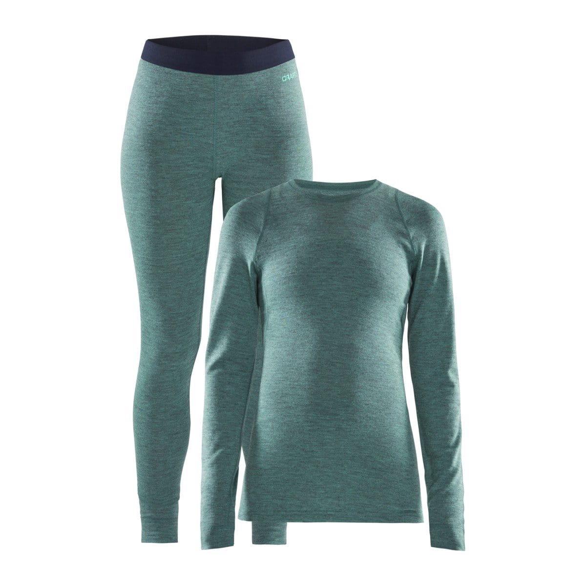 Spodní prádlo Craft W Set Merino 180 zelená