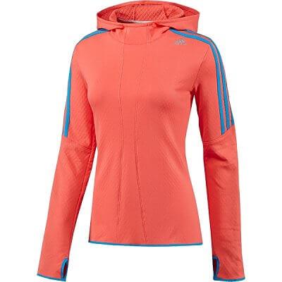 Dámská běžecká mikina adidas rsp hoodie w