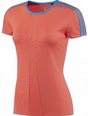 Dámské běžecké triko adidas response cap sleeve tee w