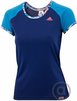 Dámské běžecké triko adidas ak ss t w