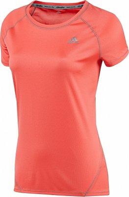 Dámské běžecké triko adidas sq ccrun ss t w