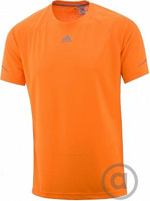 Pánské běžecké triko adidas sq ccrun ss t m