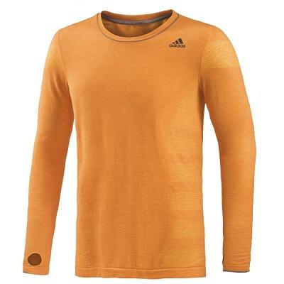 Pánské běžecké triko adidas as primeknit lm