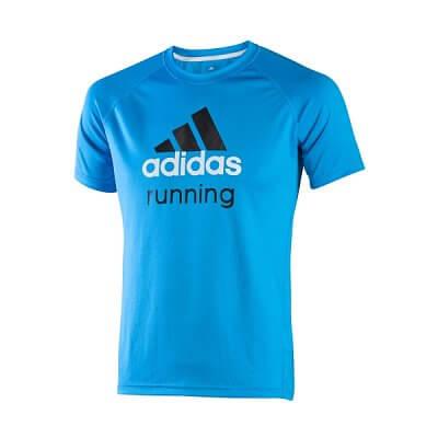 Pánské běžecké triko adidas eng run t m