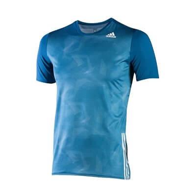 Pánské běžecké triko adidas az ss t m