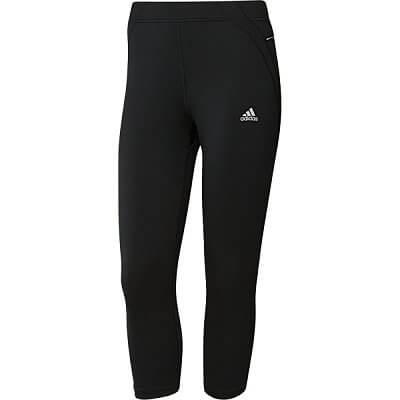 Dámské běžecké kalhoty adidas sq 3/4 ti w