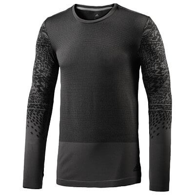 Pánské běžecké triko adidas supernova primeknit ls tee m