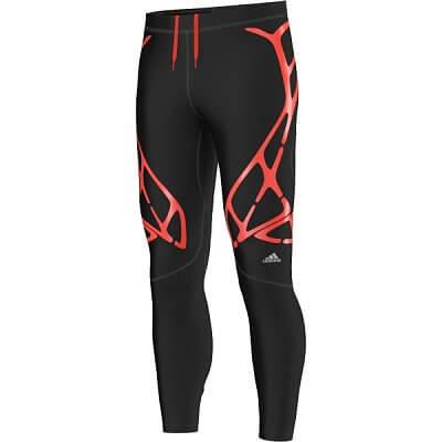 Pánské běžecké kalhoty adidas adizero sprint web long tight