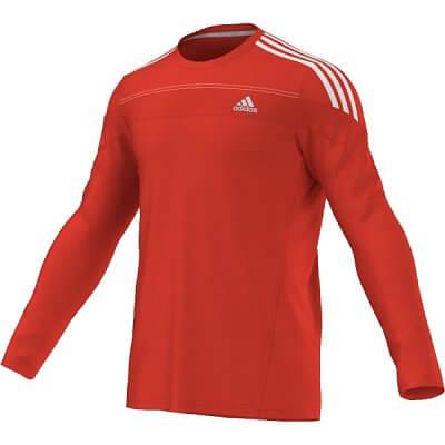 Pánské běžecké triko adidas response l/s tee m