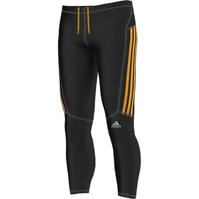 Pánské běžecké kalhoty adidas response long tights m
