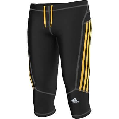 Pánské běžecké kalhoty adidas response 3/4 tights m