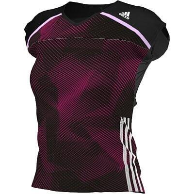 Dámské běžecké triko adidas adizero s/s tee w