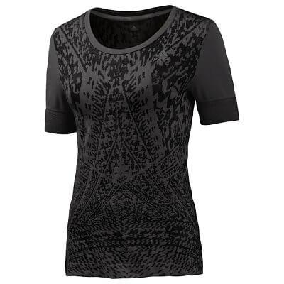 Dámské běžecké triko adidas supernova seamless ss tee w